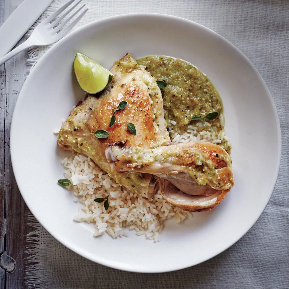 Slow Cooker Chicken VerdeRecipe