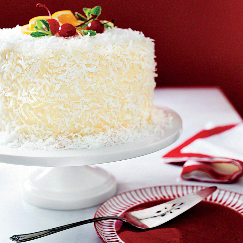 Ambrosia Coconut Cake