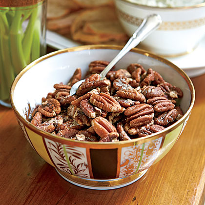 Buttery Toasted Pecans Recipe Myrecipes