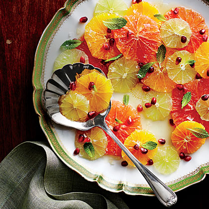 sl-Citrus Salad with Spiced Honey
