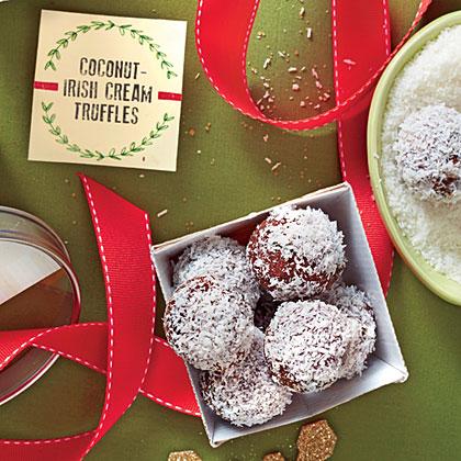 Coconut-Irish Cream Truffles Recipe