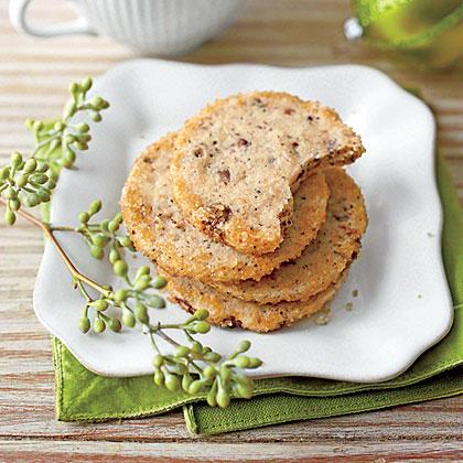 Espresso Shortbread CookiesRecipe