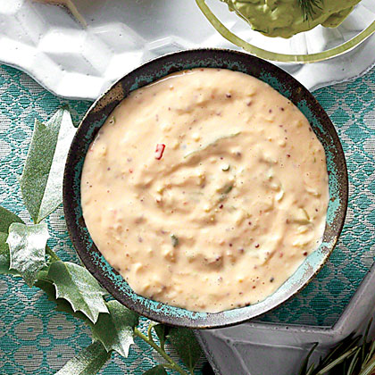 Ginger Rémoulade RecipePerk up shrimp cocktail with zingy Ginger Rémoulade.