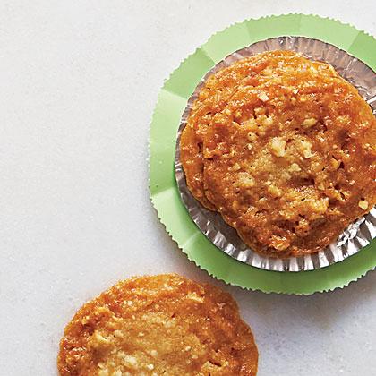 Honey-Hazelnut Crisps