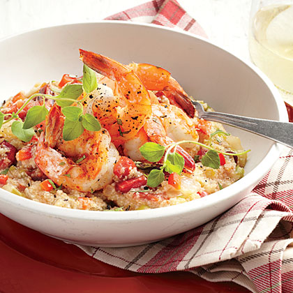 One-Pot Shrimp and Grits