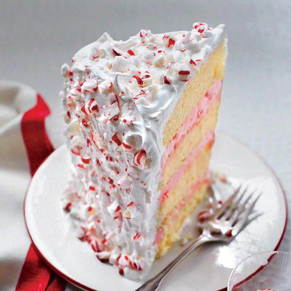 Peppermint Ice-Cream Cake