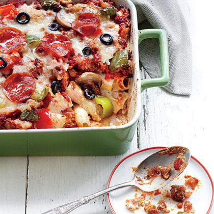 Pizza Casserole Deluxe Recipe