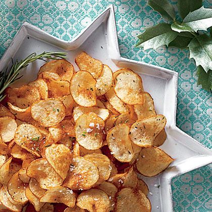 Rosemary Salt-and-Vinegar Chips Recipe