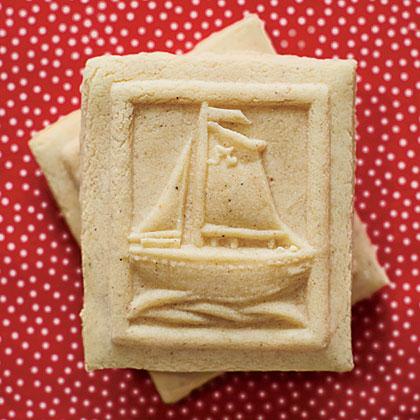 Eggnog-Scented Springerle Cookies