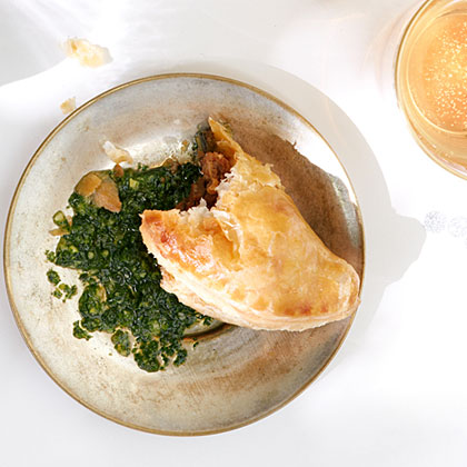 Beef Empanadas with Chimichurri Recipe