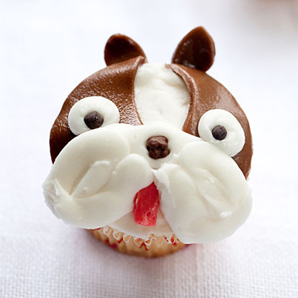 Boston Terrier Cupcakes Recipe