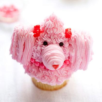 Poodle Cupcakes Recipe