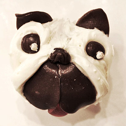 When your pug cupcake is ready to share, box up a litter and bring them to fellow pug lovers. See the recipe to get started.