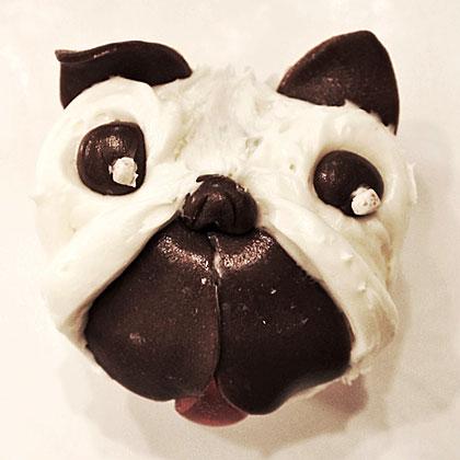 Pug Pupcake