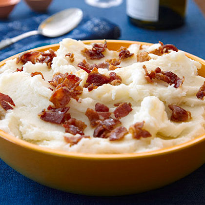 Bacon-Garlic Mashed Potatoes
