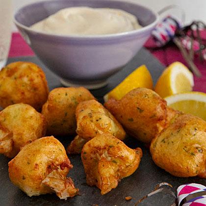Cauliflower-Parmesan Fritters