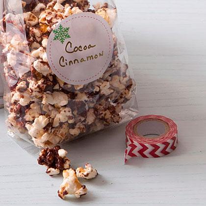 Cocoa-Cinnamon Popcorn Recipe