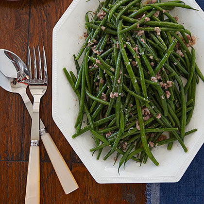 Green Beans Vinaigrette Recipe