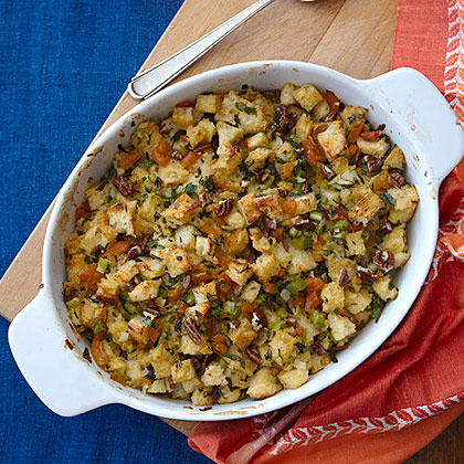 Herbed Apricot-Pecan Stuffing Recipe