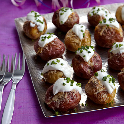 Mini Twice-Baked Potatoes Recipe