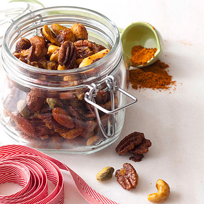 Spicy Curried Nuts Recipe