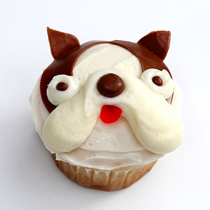 How to Make Boston Terrier Pupcakes