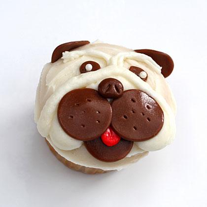 How to Make Pug Pupcakes