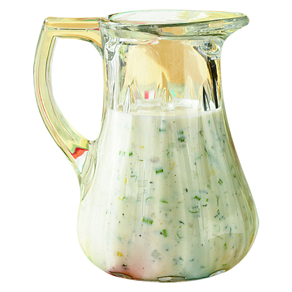Double Homemade Salad Dressing