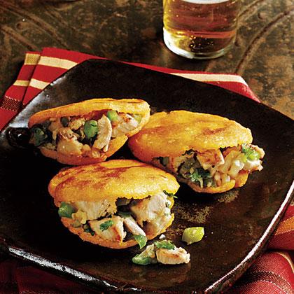 turkey arepas recipe myrecipes