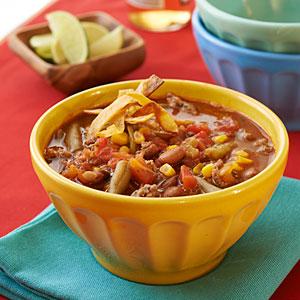 Taco Soup with Venison