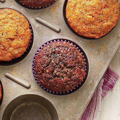 Beet-Poppy Seed Muffins