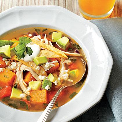 Butternut Squash Tortilla Soup