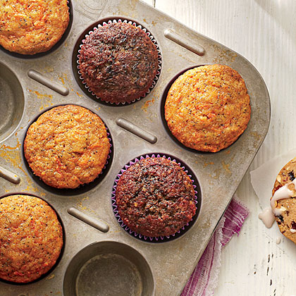 Carrot-Poppy Seed Muffins Recipe