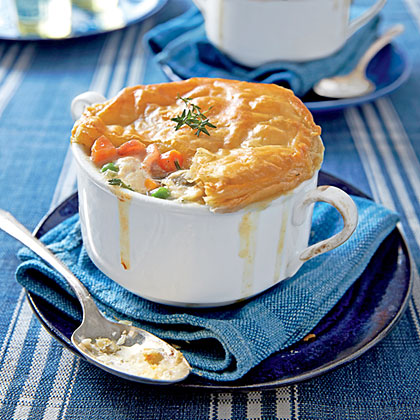 Loaded Chicken Bacon Pot Pie Recipe Myrecipes