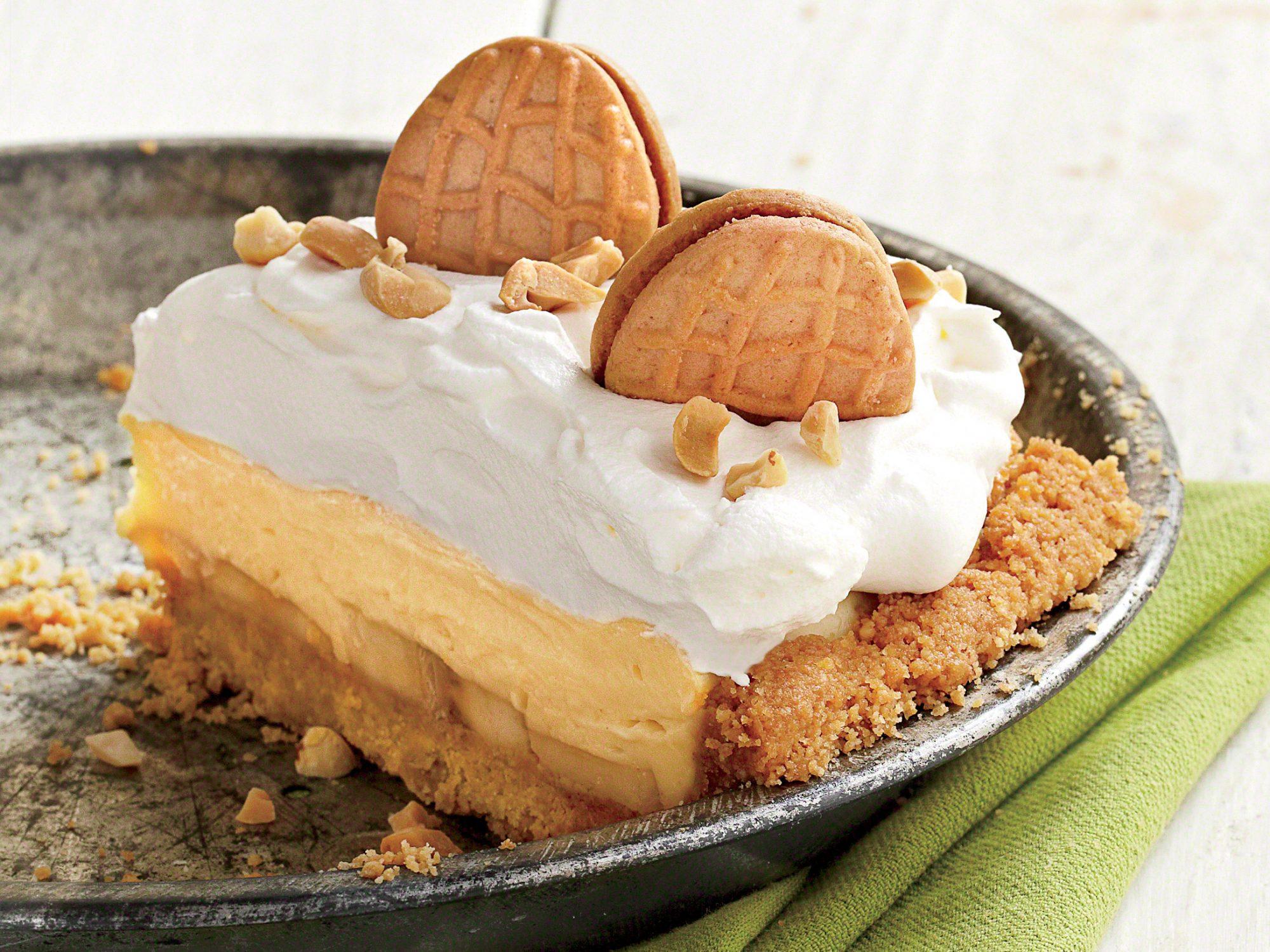 Peanut Butter-Banana Cream Pie