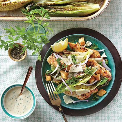Roasted Chicken Caesar Salad