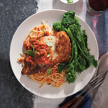 Chicken Parmesan with SpaghettiRecipe
