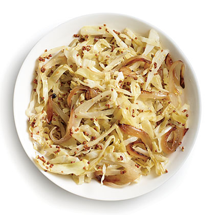 Cider-Braised Cabbage