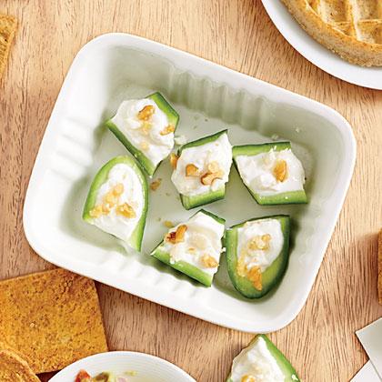 Cucumber-Feta Bites Recipe