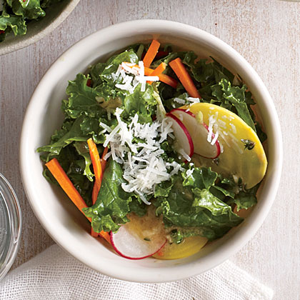 kale garden salad recipe myrecipes - Garden Salad Recipe