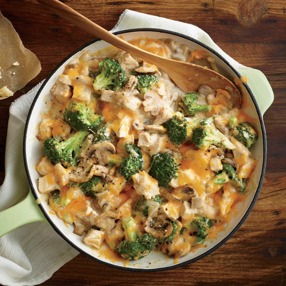 <p>Mom's Creamy Chicken and Broccoli Casserole</p>