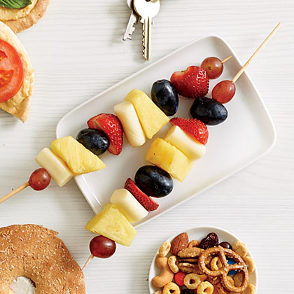 Mozza Fruit Skewers Recipe