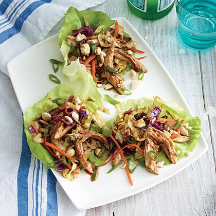 Mu Shu Chicken Lettuce Wraps