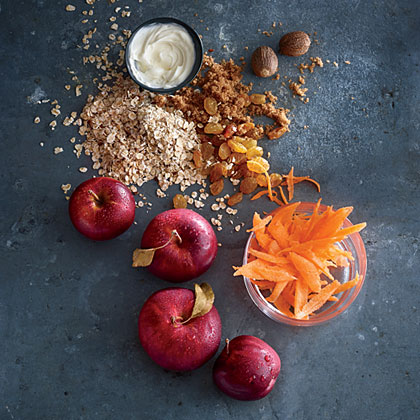 Rolled Oats with Carrot and AppleRecipe