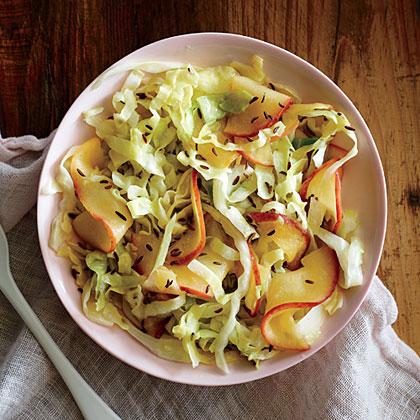 Sautéed Cabbage and ApplesRecipe