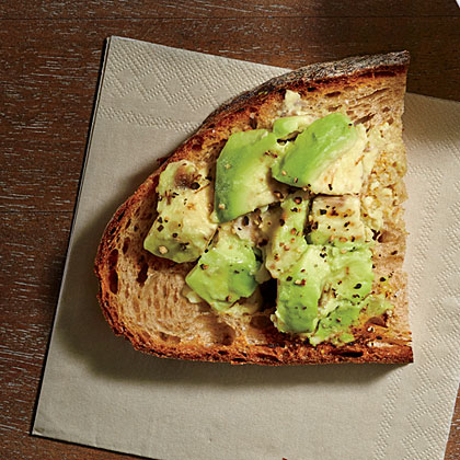 Smashed Avocado on Toast Recipe