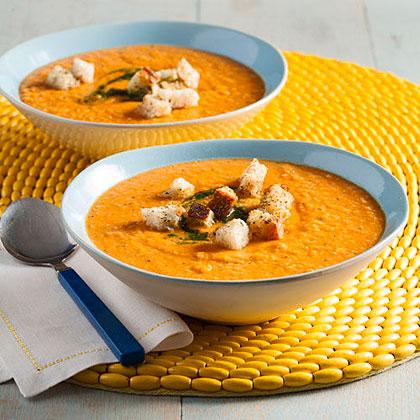 Tomato and White Bean Soup Recipe