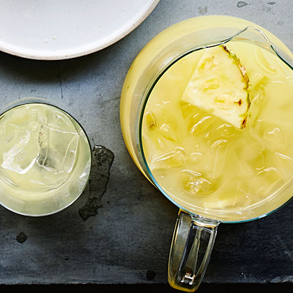Ginger Pineapple Punch (Lebouroudjee) Recipe