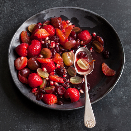 <p>Simply Red Fruit Salad</p>