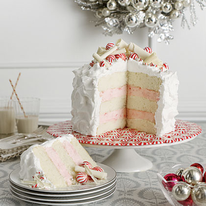 Cake of the Week: Layered Peppermint Cheesecake